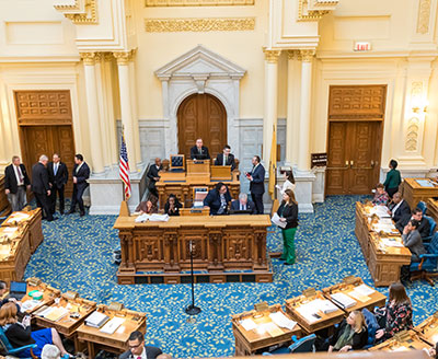 The New Jersey Assembly prepares to hear the Aid in Dying bill March 25. Hal Brown photo