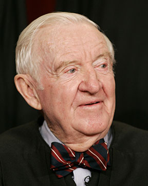 Retired Supreme Court Justice John Paul Stevens, who served on the court for nearly 35 years, died July 16 in Fort Lauderdale, Fla., at age 99. He is pictured in a March 3, 2006, photo. CNS photo/Larry Downing, Reuters
