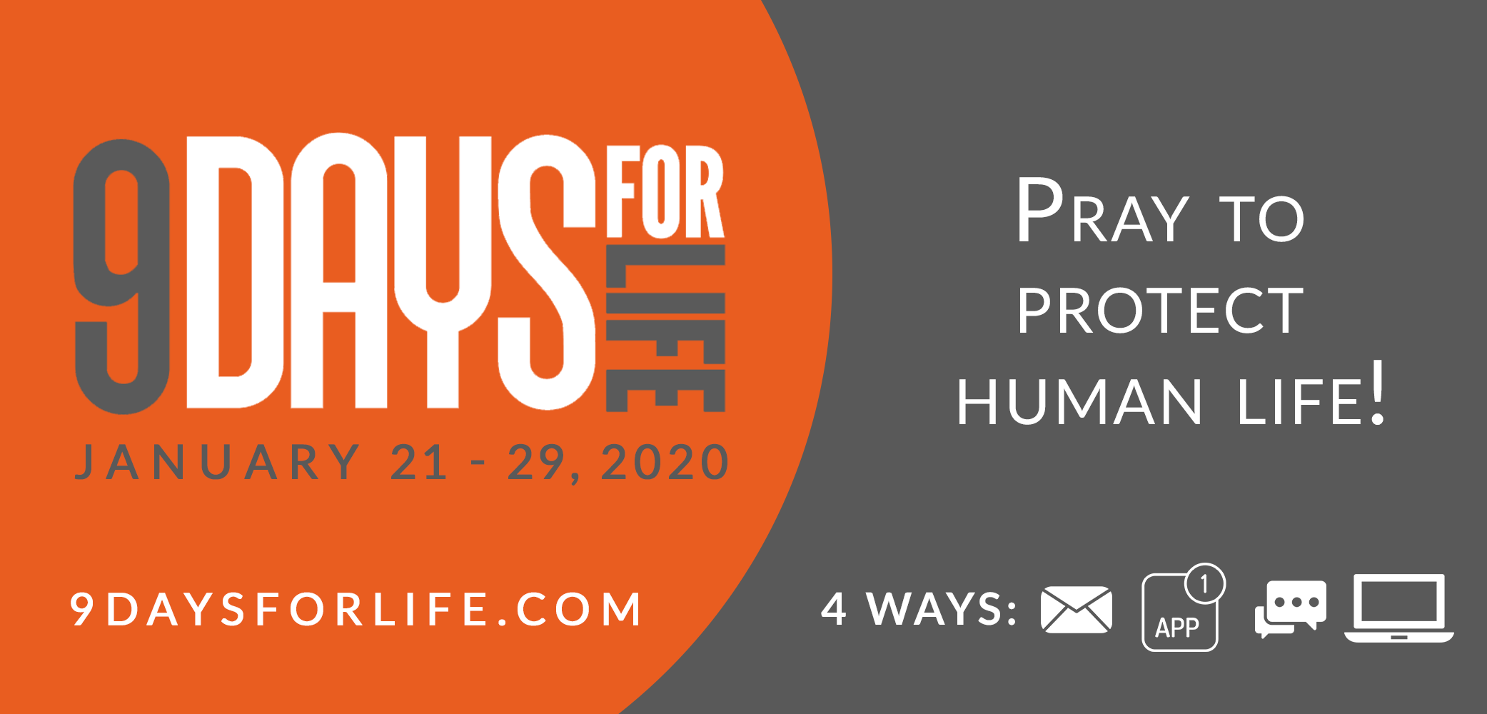 USCCB's '9 Days for Life' prayer, action campaign takes place Jan. 21-29