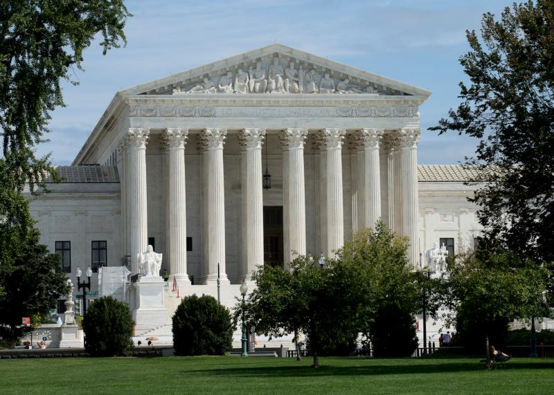 The U.S. Supreme Court is seen in Washington Sept. 26. The court is about to look at the Affordable Health Care's contraceptive mandate from a different angle, examining if the Trump administration can legally allow religious employers to opt out of the mandate. CNS photo/Tyler Orsburn