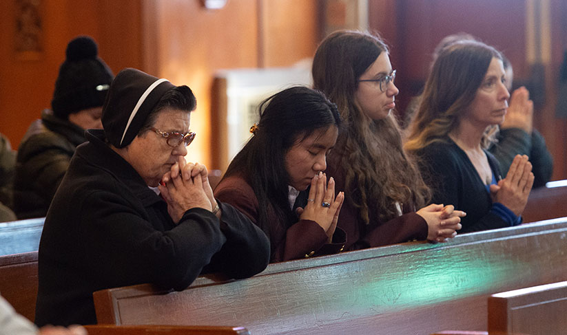 Have hope, faithful hear during Respect Life Mass celebrated by Bishop
