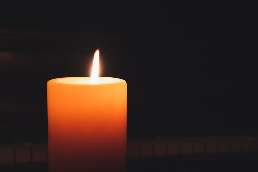 Catholics throughout the Diocese of Trenton are encouraged to display a lighted candle in the window of their homes on Holy Saturday evening as a symbol of unity with Catholics throughout the world while Paschal candles are being lit at Easter Vigils. Photo by Brett Sales, Pexels