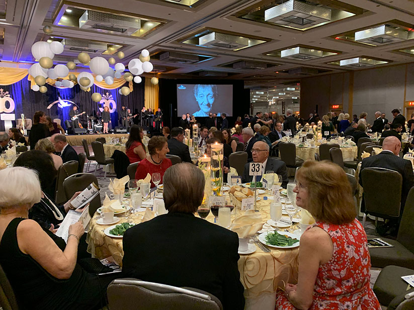 Supporters of Catholic Charities Diocese of Trenton attend the 2019 Guardian Angels Dinner Dance. This year's event has been combined with three other CCDOT fundraisers for one virtual event – the Guardian Angel Benefit of Hope – due to the coronavirus pandemic. EmmaLee Italia photo
