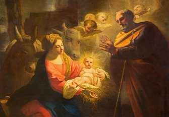 Bishop O'Connell: Solitude cannot extinguish the joy of Jesus' birth