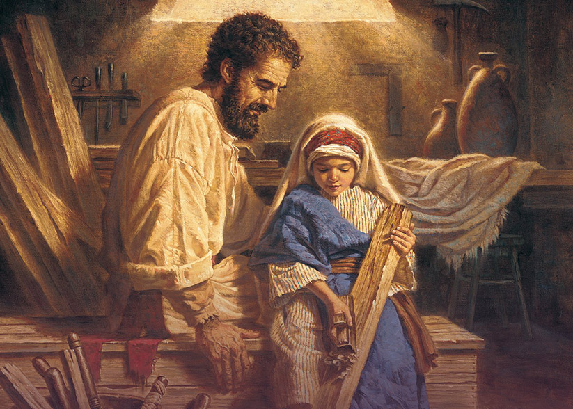"This is the cover of the book ""St. Joseph, Tender Father: His Life and His Care for Us Today"" by Louise Perrotta. CNS photo/courtesy The Word Among Us Press"
